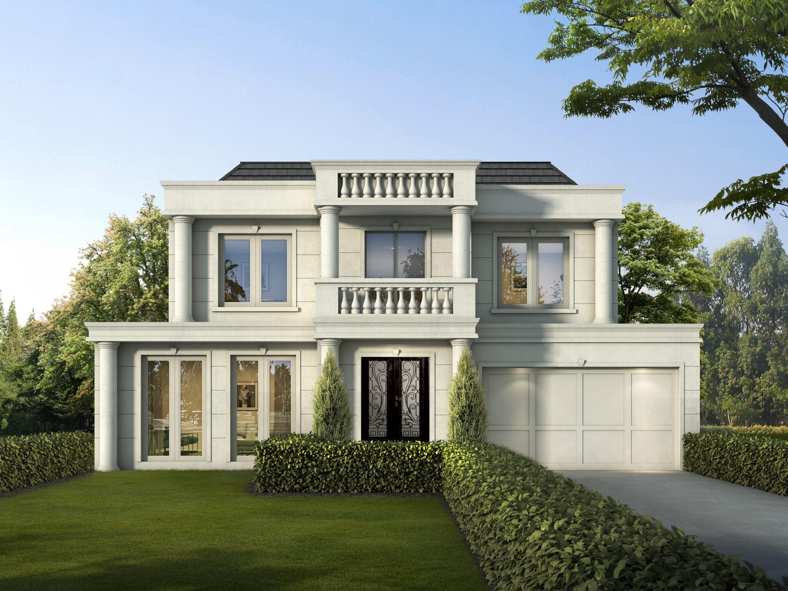 Imperio Due custom home design