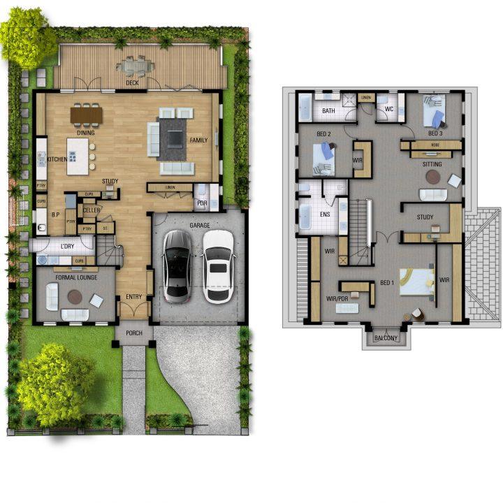 Imperio Due designer home floorplan