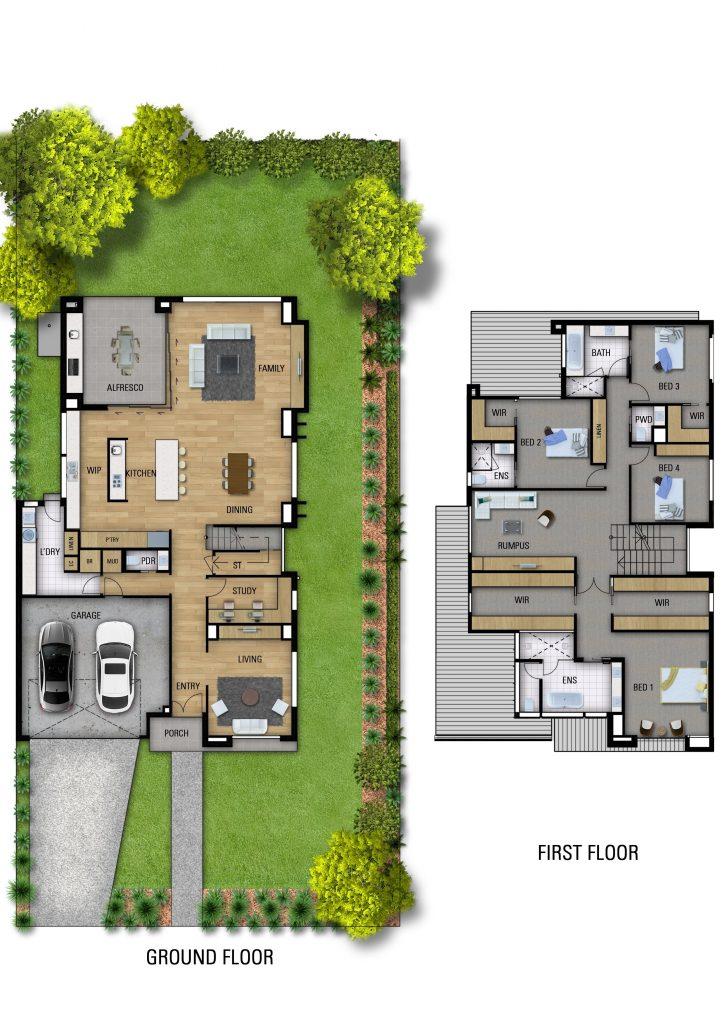 State custom home floorplans for Oakleigh East Melbourne